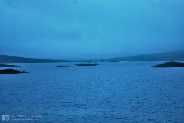 Rainy conditions at Jengelvatnet
