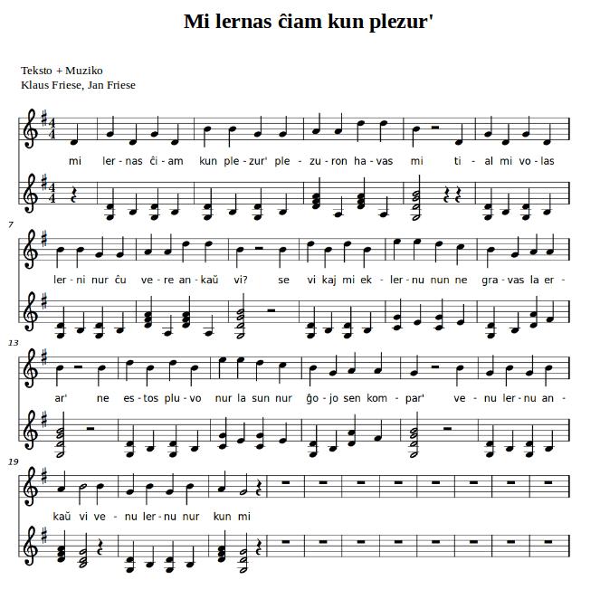 Klaus Friese Muziko