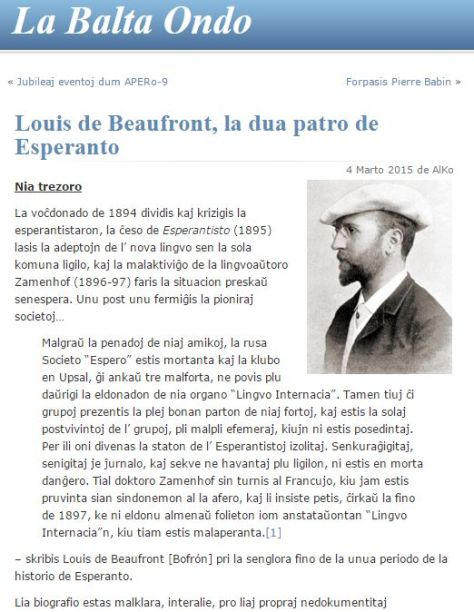 Beaufront