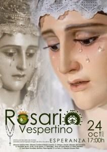 Lee más sobre el artículo La Virgen de la Esperanza realizará un Rosario Vespertino por el 75 Aniversario