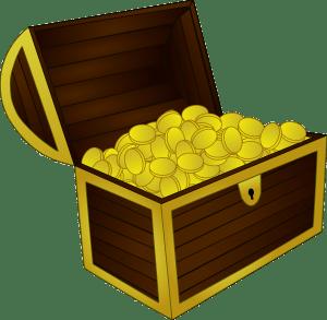 Symbolbild Goldschatz