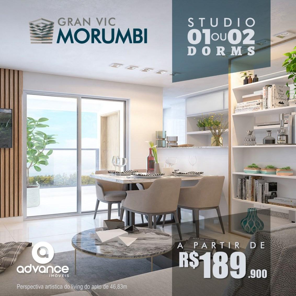 Apartamento gran vic morumbi