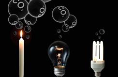 energia elettrica - Lampadine a basso consumo = Elettricità sporca 70
