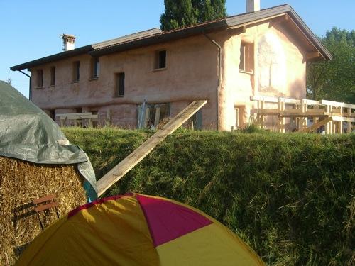 costruire in paglia - La Boa, fattoria didattica di Stefano Soldati 4