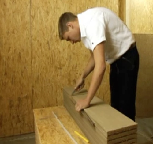 Finitura interna parete - Migliorare la massa con l'argilla 40
