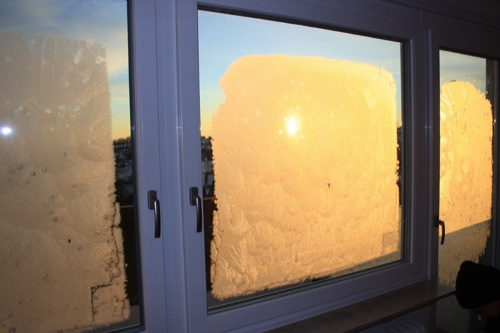 condensa esterna triplo vetro
