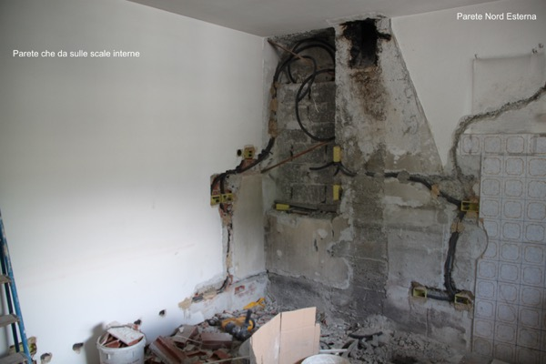 Esperto casaclima portfolio lavori espertocasaclima - Coibentazione parete interna ...