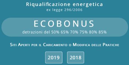 detrazioni fiscali 2019 - DETRAZIONI FISCALI per interventi di RISPARMIO ENERGETICO e utilizzo di FONTI DI ENERGIA RINNOVABILI 6