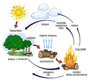 riscaldamento a legna - Riscaldamento a legna, energia grigia ed emissioni di CO2 24