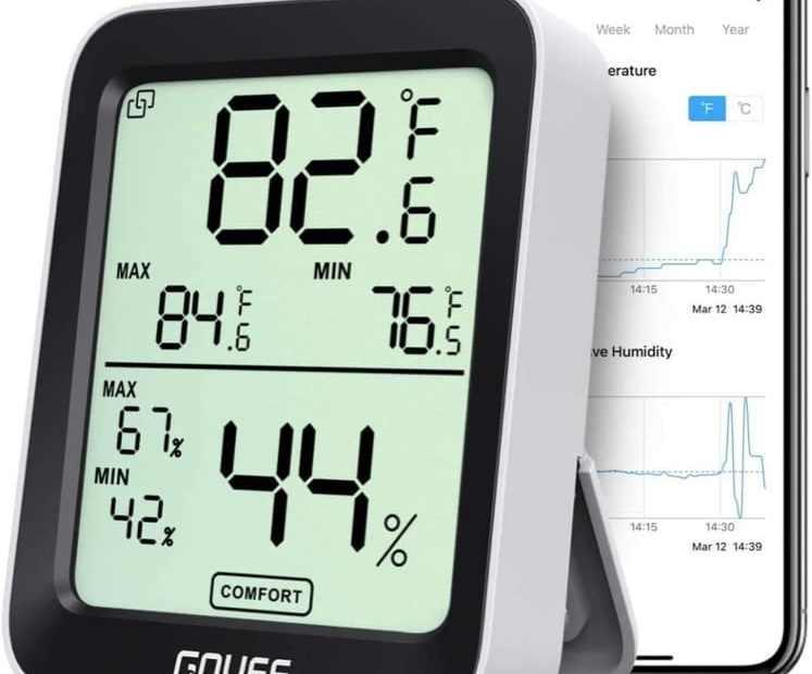 regolazione temperature ambiente - Termometro igrometro termoigrometro videocamera videocitofono per la casa 4