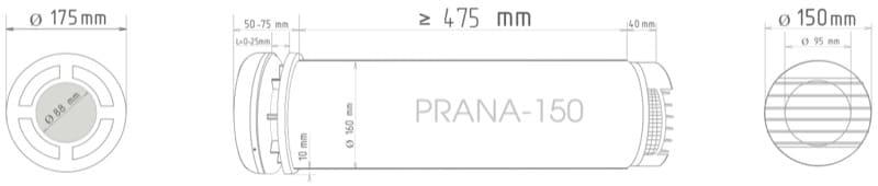 VMC decentralizzata - Ho installato 3 VMC Prana ma non noto cambiamenti, umidità sempre oltre 80 % 14