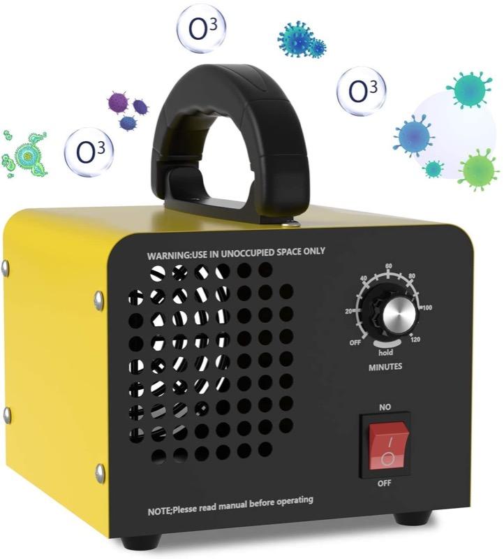 contro la muffa - Rimuovere la muffa in casa con un generatore di ozono 4
