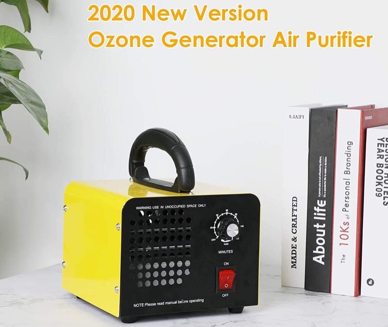 contro la muffa - Rimuovere la muffa in casa con un generatore di ozono 10