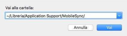Tips per lavorare on-line - Backup iTunes di iPhone in Hard Disk esterno 6
