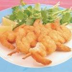 Espetinho de camarão empanado: Receita de como fazer