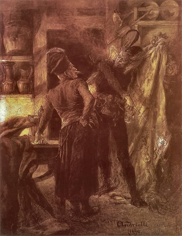Leyenda del hechicero polaco que pactó con el diablo.