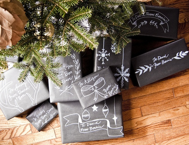 A Spin on Holiday Gift Wrapping