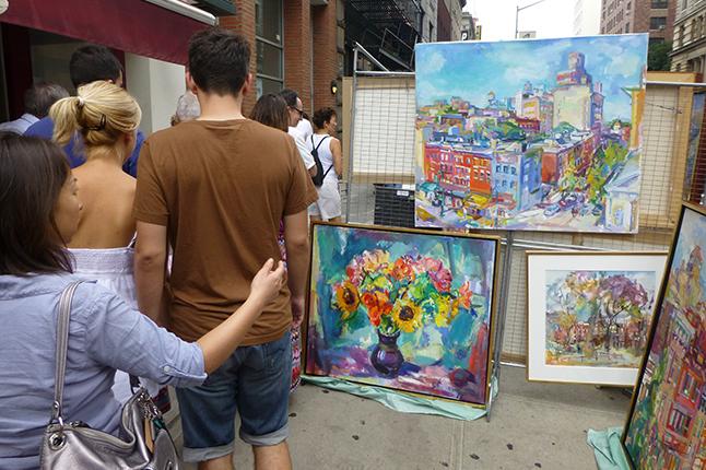 Date Your City | Washington Square Outdoor Art Exhibit