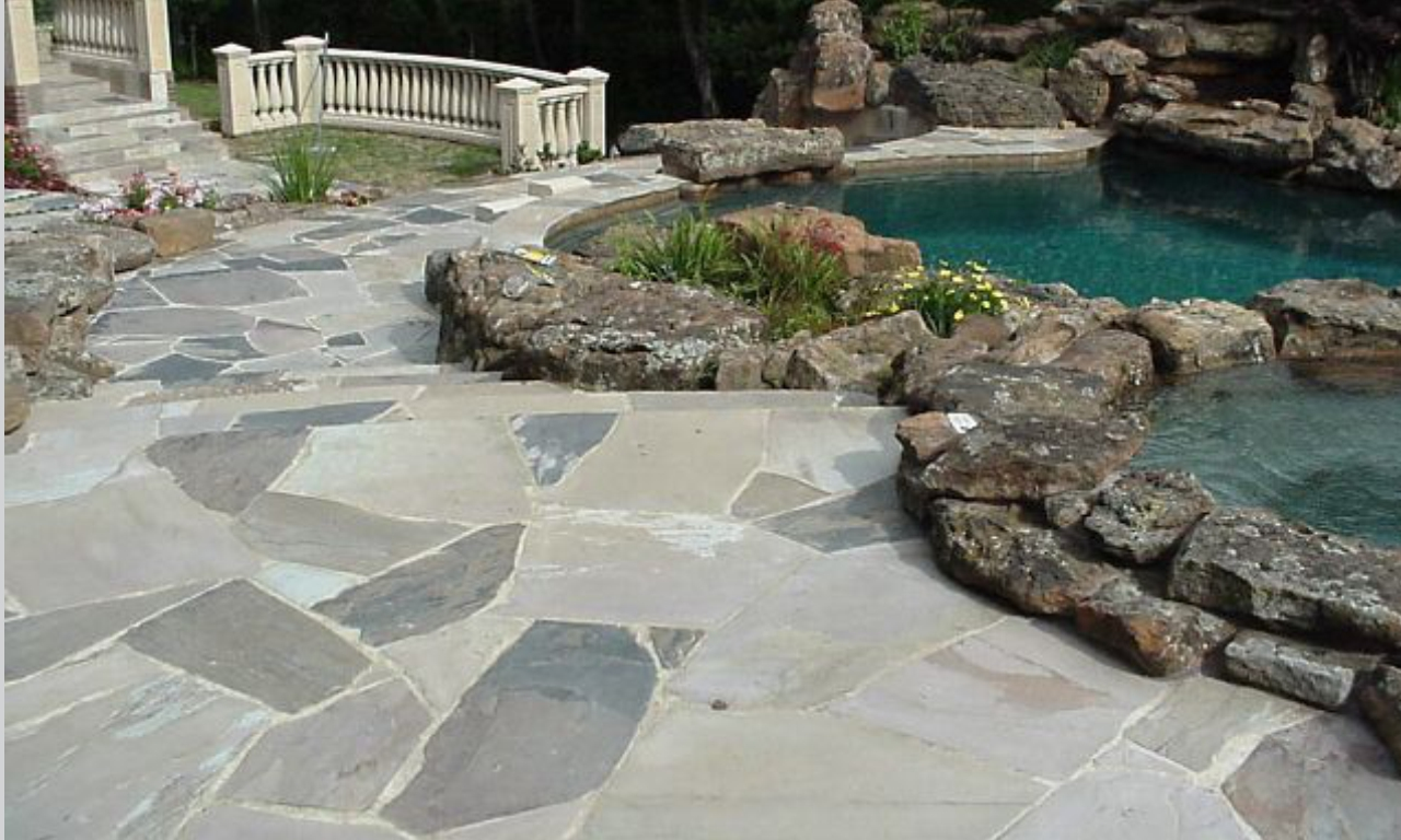 Red Rock Landscaping Stones