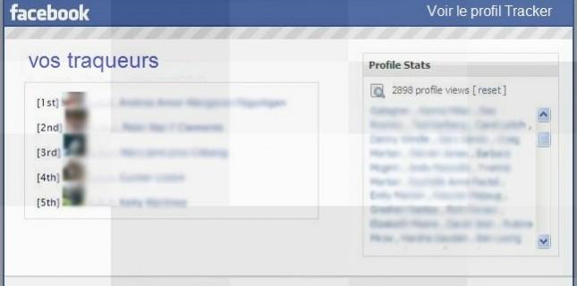 Qui visite profil Facebook