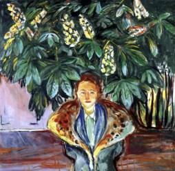 Bajo el castaño (Edvard Munch, 1937)