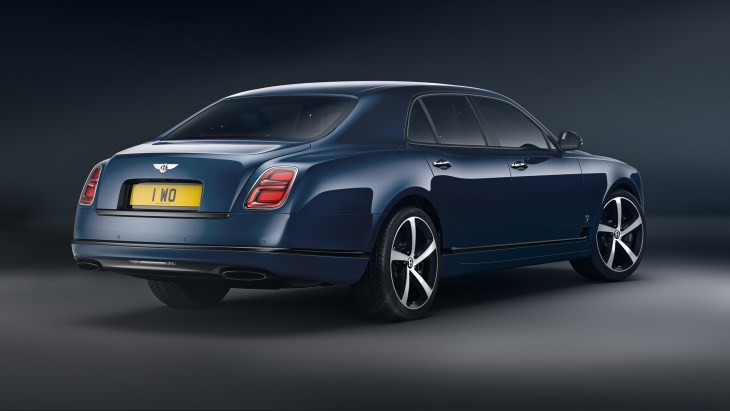 Mulsanne 675 Edition - 3, Rear 3qtr