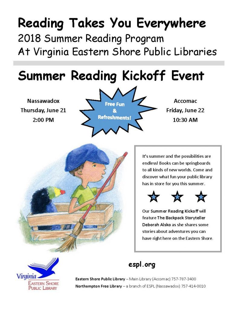 2018 SRP Kickoff Flyer English