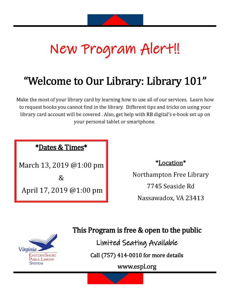 library introduction program