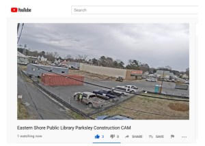 New library construction