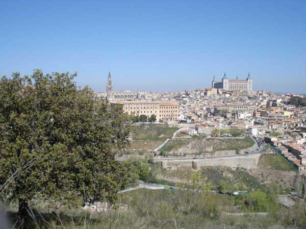 Alcazar Toledo Spain Cathedral