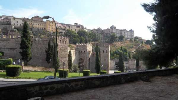 Spain Toledo City Wall