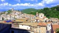 Vista sul centro storico dal palazzo Del Gaudio