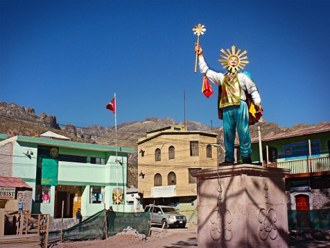 Piazza di Chiway, Perù