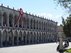 Piaza de Armas, Arequipa, Perù