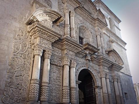 Barocco meticcio o barocco andino, Arequipa, Perù