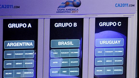 grupos Copa América 2011