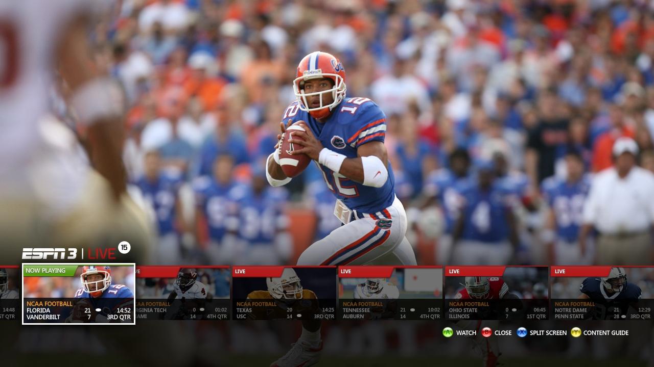 WatchESPN Coming Soon to ESPN on Xbox LIVE  ESPN MediaZone US