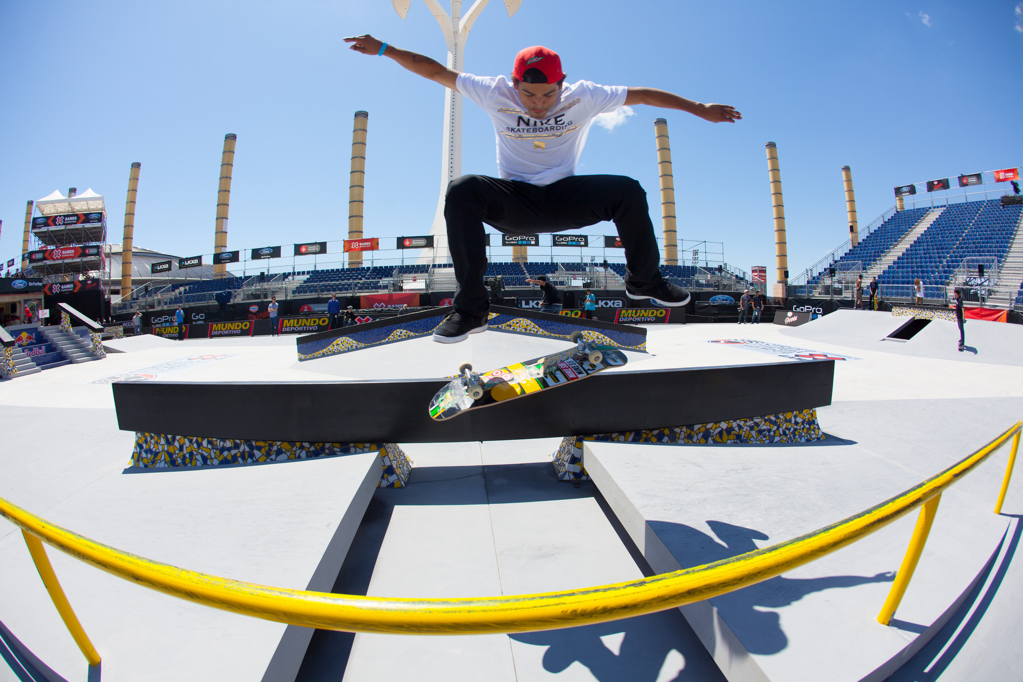 skate chair staples white ceremony chairs top action sports athletes invited to compete at x games