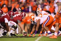 Tampa, FL - January 9, 2017 - Raymond James Stadium: Christian Wilkins (42) of the Clemson University Tigers during the 2017 CFP National Championship Game Presented by AT&T (Photo by Phil Ellsworth / ESPN Images)