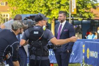 Knoxville, TN - October 15, 2016 - University of Tennessee: Tim Tebow on the set of SEC Nation (Photo by Ruth Dudley / ESPN Images)