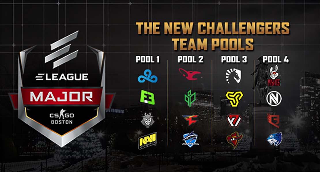 ELEAGUE Major Boston 2018 New Challengers Stage Round