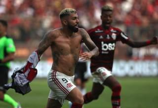 Gabigol marca dois nos minutos finais e Flamengo é campeão da Libertadores