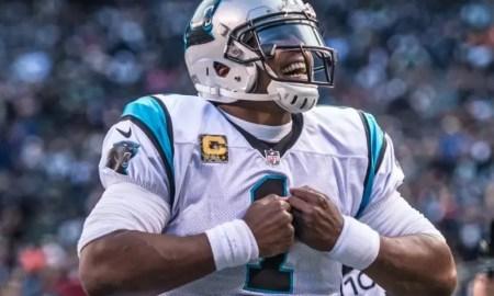 Cam Newton foi MVP pelos Panthers (Créditos: Divulgação/Carolina Panthers)