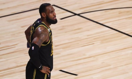 LeBron James (Photo by Mike Ehrmann/Getty Images)