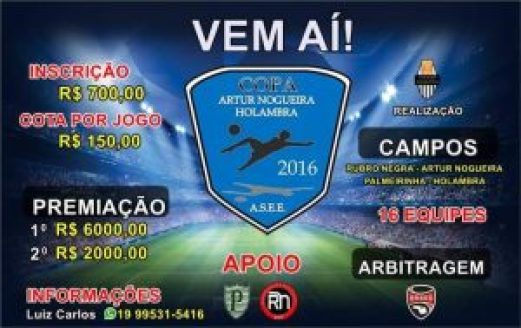 Copa Holmabra Artur nogueira 2016