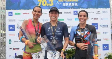 Pamella Oliveira é tricampeã do IRONMAN 70.3 Rio de Janeiro 2019