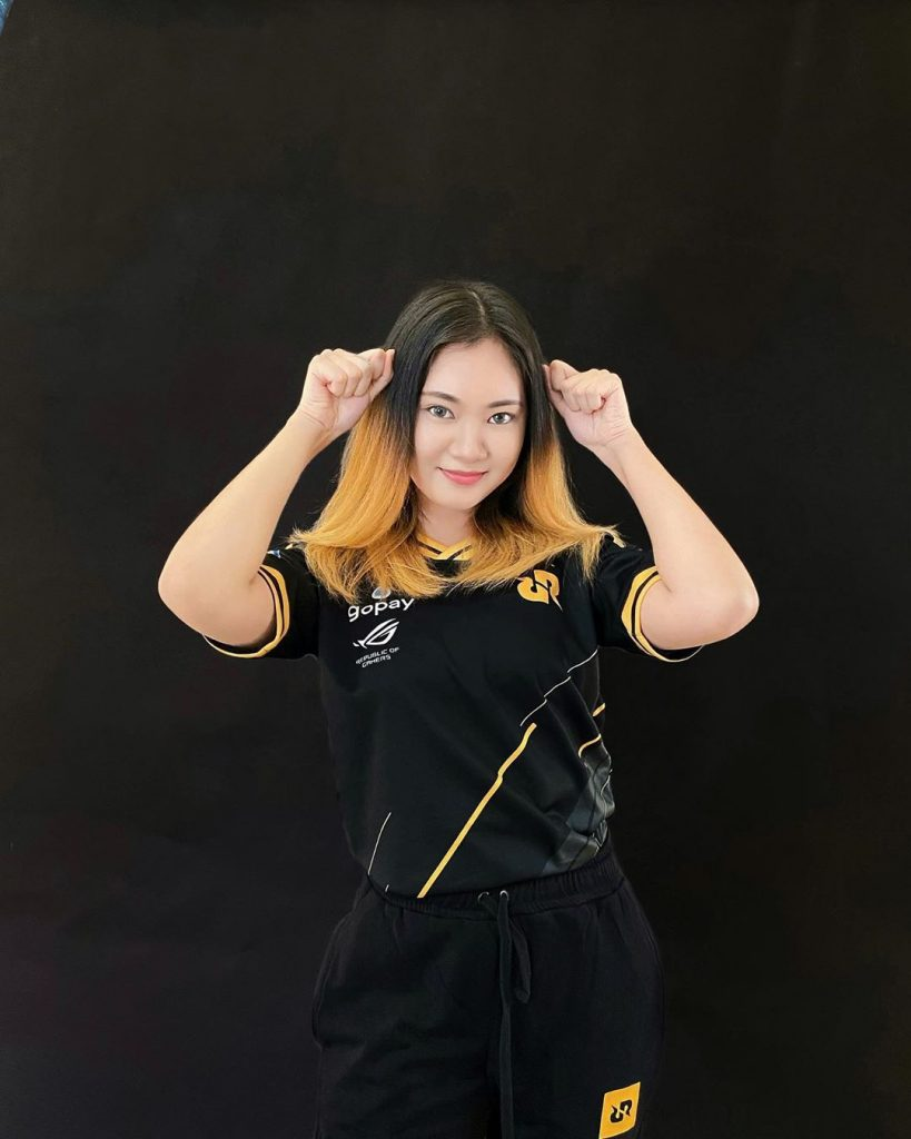 Player Wanita PUBGM Indonesia