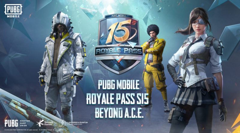 Royale Pass PUBGM Season 15