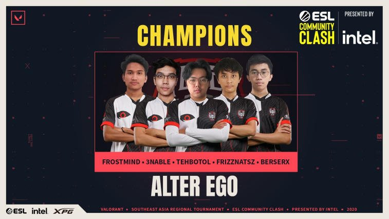 Alter Ego Juarai ESL Community Clash