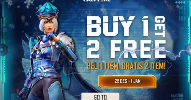 Event Buy 1 Get 2 Free Fire